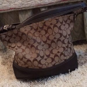 Coach Shoulder Tote Bucket Bag Purse